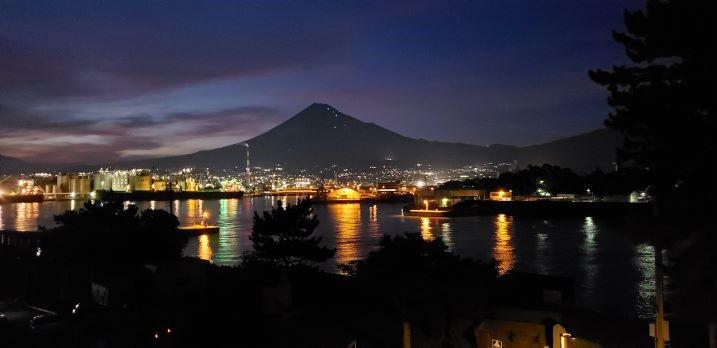 夜景田子の浦